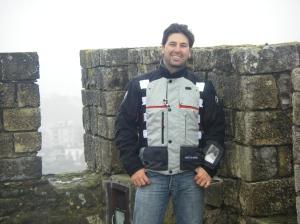 Na torre do Castelo de Leiria